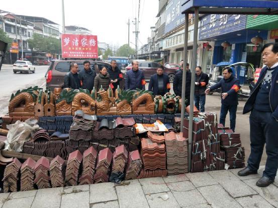 湖南省衡南县泉湖镇开展环境卫生大清理、干干净净迎春节