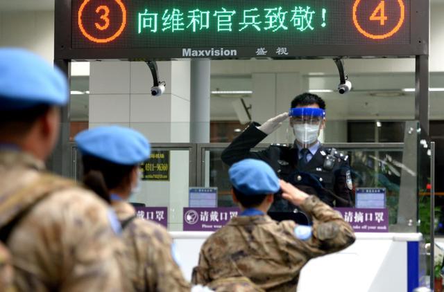 """中国第11批赴南苏丹维和部队出发,人员来自""""王牌部队"""""""