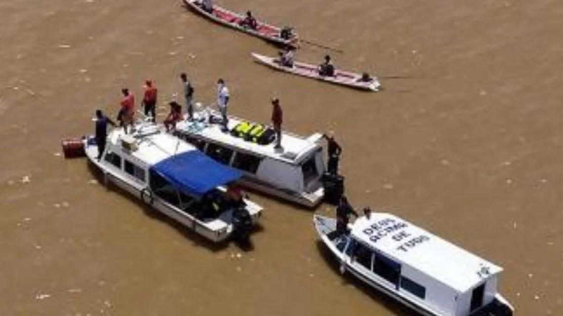尼日利亚超载船只沉没致百余人失踪 搜寻仍在进行